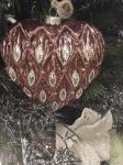 """Украшение на елку """"сердце"""""""