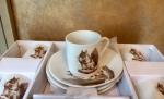 Кофейный набор (фарфор)