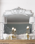 Зеркало настенное 125х100х3 см
