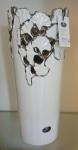 Керамическая ваза, длина 14 см, ширина 14 см, высота 32 см