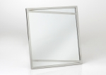 Зеркало настенное металлическое 65*60 см