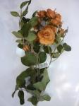 "Роза ""Эмили"" оранжевая 65 см"