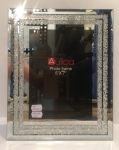 Фоторамка стеклянная с бисером